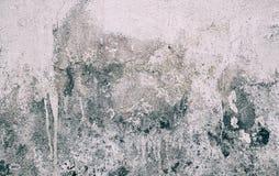 Smutsig väggbakgrundstextur; Gamla väggar smutsar ner arkivbild