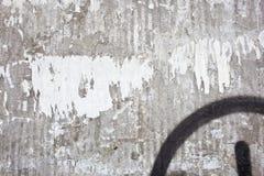 smutsig vägg Arkivfoton