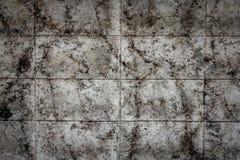 Smutsiga gamla betongväggar, texturerad bakgrund royaltyfria foton