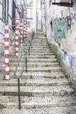 Smutsiga gataarbeten Fotografering för Bildbyråer