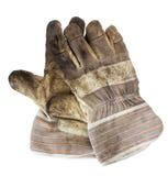 smutsiga handskar Royaltyfri Fotografi