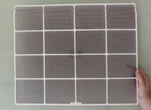 Smutsigt AC-filter royaltyfria bilder