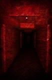 smutsigt förlorat spöklikt för korridor Royaltyfri Fotografi