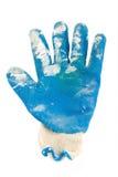 smutsigt handskeskydd Royaltyfri Fotografi
