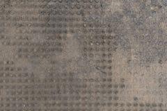 Smutsigt och slitet mattt för dörr Arkivbild