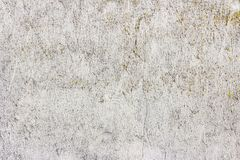 Smutsigt sprucket tappningljus f?r gammal grunge - gr? v?gg f?r betong- och cementformtextur eller golvbakgrund arkivfoto
