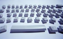 smutsigt tangentbord Arkivbild