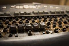 smutsigt tangentbord för dator Royaltyfria Bilder