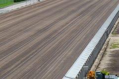 Smutsspår i Racecourse Royaltyfri Fotografi