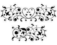 smycka scrollvektorn Royaltyfri Bild