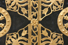 smyckad dörr royaltyfria foton
