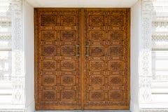 Smyckad dörr Arkivbilder