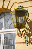 smyckad lampa Arkivbilder