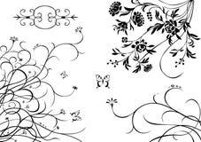 smyckar något som är vegetative royaltyfri illustrationer