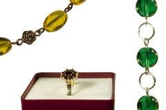 smycken royaltyfri fotografi