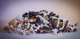 smycken, bijouterier och lyx Royaltyfria Bilder