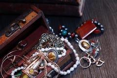 Smycken boxas Royaltyfri Bild