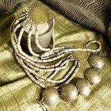smycken för konstbakgrundsmode Royaltyfria Bilder