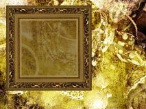smycken för konstbakgrundsram Royaltyfria Bilder