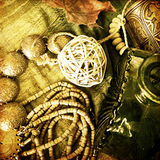 smycken för konstkortmode Royaltyfri Foto