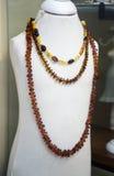 Smycken i ett shoppafönster Royaltyfria Foton