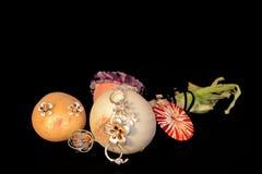 Smycken och grönsaker Arkivfoton