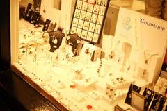 Smycken shoppar plats royaltyfri bild