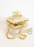 Smyckenask royaltyfria bilder