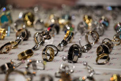 Smyckencirklar Royaltyfria Foton