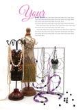 Smyckenhållare Royaltyfri Fotografi