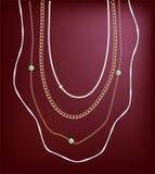 Smyckenhalsband Royaltyfria Bilder