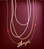 Smyckenkedjor Royaltyfri Bild