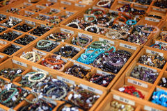 Smyckenmarknad Fotografering för Bildbyråer