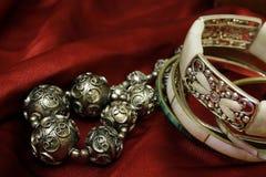 smyckenredsilk Arkivfoto