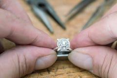 Smyckenreparation Royaltyfria Bilder