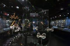 Smyckenutställning på Williamen och Judith Bollinger Gallery i Victoria och Albert Museum Royaltyfria Foton