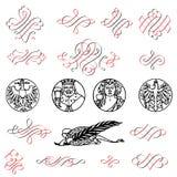 Smyckning stock illustrationer