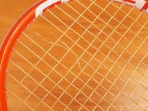 Smyczkowa przerwa tenisa sznurek Obraz Stock