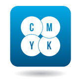 SMYK icon in simple style Royalty Free Stock Photo