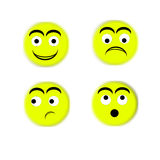 Smyle faces Stock Photography