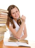Beautyful student Stock Photo