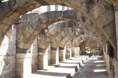 smyrna för stad s för marknadsplats forntida Arkivfoton