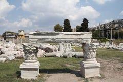 smyrna города s agora стародедовское Стоковое Изображение