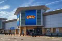 Smyths Toy Shop in St. Helens Merseyside Gro?britannien lizenzfreie stockfotos