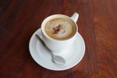 Snäsigt kaffe Arkivbild