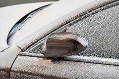 Snö för Topaz Brown Metallic färgbil Royaltyfri Bild