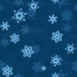 Snö flagar sömlös bakgrund Royaltyfri Fotografi