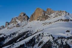Snö når en höjdpunkt och fördunklar Royaltyfri Fotografi
