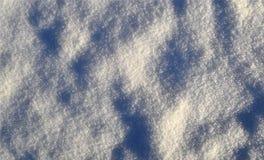 Snö och skinande iskristaller, diagram, bakgrund som är strukturell Royaltyfri Fotografi
