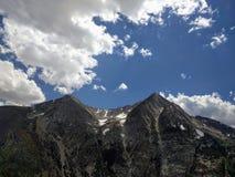 Snö på berget Royaltyfri Fotografi